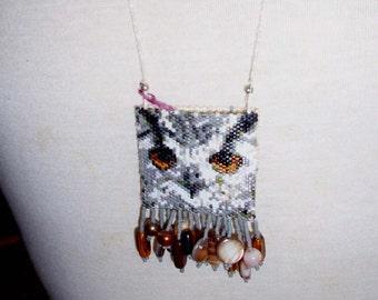 Tiny Owl Amulet Bag