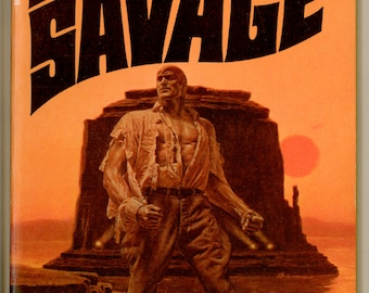 Doc Savage 66, Mad Mesa by Kenneth Robeson 1972 Bantam Book S6912 Second Bantam Printing. Cover Art by James Bama Vintage Paperback