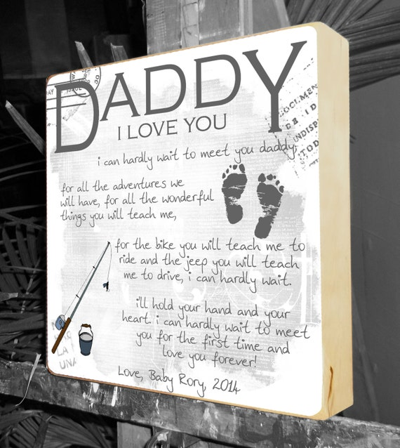 Fathers day gift gifts for dad dad to be gift new daddy for Creative gifts for dad from daughter