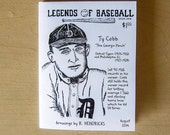 Legends of Baseball Issue 1 - portraits and facts of and about baseball players