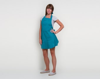 Teal - Women's Hostess Apron