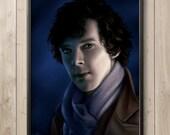 Best Seller Benedict Cumberbatch BBC Sherlock Poster Art Print