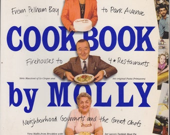 Vintage Cookbook : New York Cookbook by Molly O'Neill
