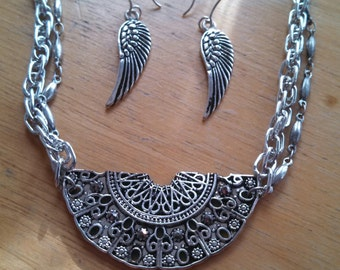 Clara's Sherwood Circlet and Earrings for Doctor Who cosplay