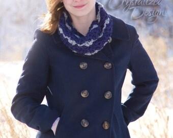 PDF Crochet PATTERN Sierra Cowl