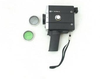 Movie /  Film Camera Lomo 215  from 70s - in black case