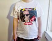 1987 Max Headroom Coke shirt - Vintage 80s TV Show Coca Cola Tshirt L