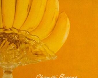 Vintage Chiquita Banana Booklet Cookbook, United Fruit Company, 1962