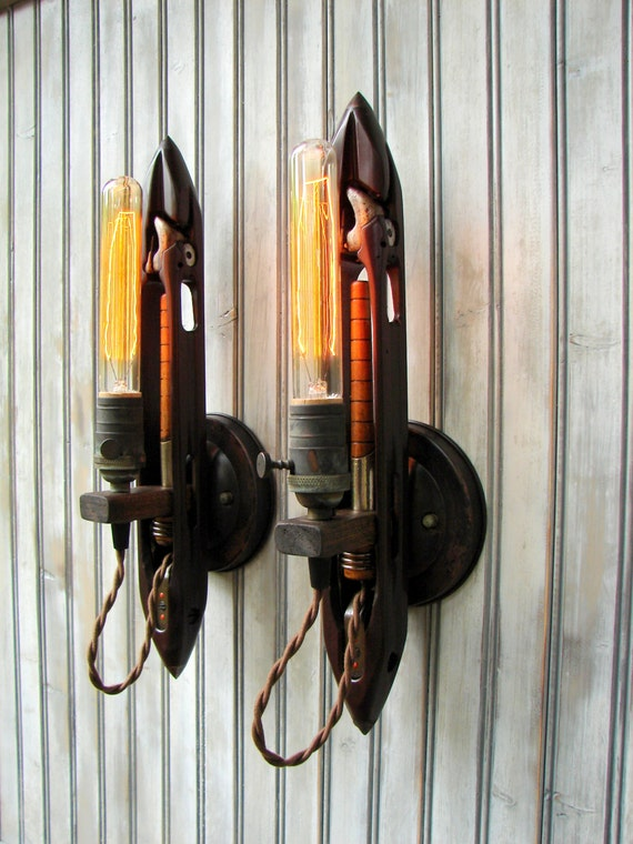 Wall Lighting - Wall Sconces - Lighting Fixture - Industrial Light