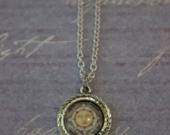 Small Moon Necklace