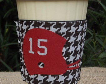 Personalized Coffee Cup Sleeve Team Spirit