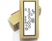 Saxophone Fingering Rubber Stamp -    A great teacher and student aid. ( Musician, Music, Woodwind)