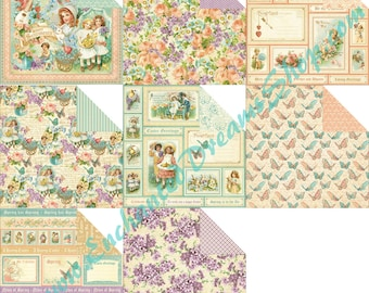"""SWEET SENTIMENTS Graphic 45  12""""x12"""" Paper Collection"""