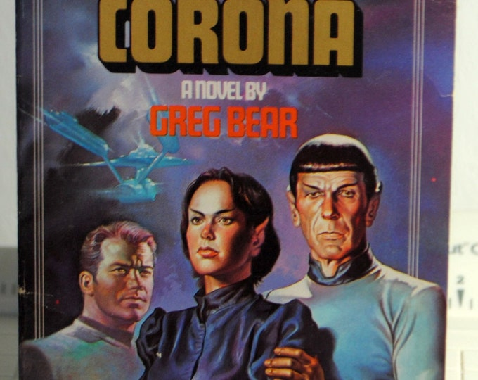 Star Trek Corona 1984 Paperback