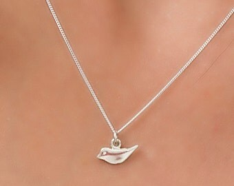 Sterling Silver Swallow