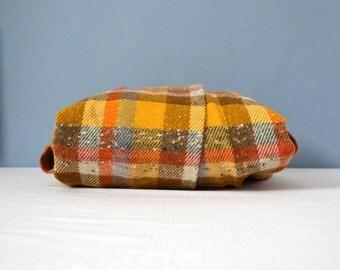 Vintage Pendleton Wool Plaid Wrap Skirt