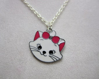 Girls Jewelry Kitty Princess Necklace-Little Girls, Girls, and Teens Jewelry