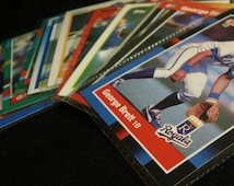 Vintage Trading Cards - 13 different George Brett Baseball Cards (1988-91)