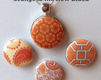 Interchangeable Magnetic Pendant Necklace