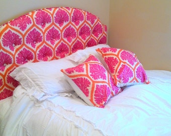 Custom Tufted Upholstered Headboard -- Made to order --Wall mounted