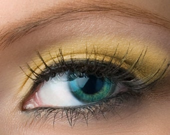 "Matte Yellow Eyeshadow - ""Daffodil"" - Vegan Mineral Eyeshadow Net Wt 2g Mineral Makeup Eye Color Pigment"