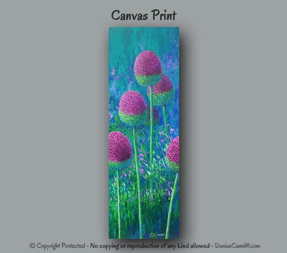 Large abstract wall art Tall canvas print Botanical Teal : il570xN6162587151vwd from www.etsy.com size 570 x 502 jpeg 41kB