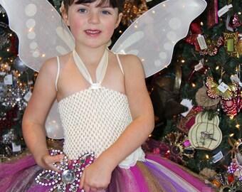 Sugar Plum Fairy Set any size Newborn, 3-6m, 6-9m,  12-18m, 18-24m, 2t, 3t, 4t, 5t, 6