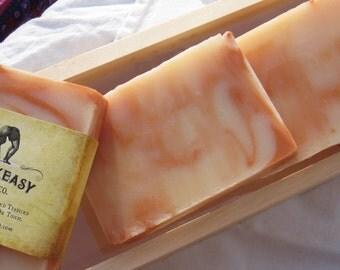 Sandalwood & Sweet Orange Speakeasy Soap, vegan, handmade