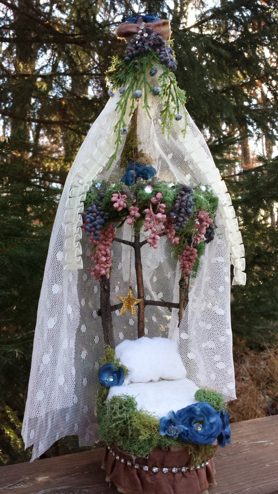 Dream a little dream handmade fairy bed for Fairytale beds