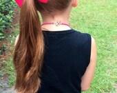 Large Boutique Hair bow Girls Hair Bows Girls hair accessories Headband Hair clip You choose color