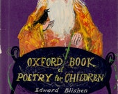 Oxford Book of Poetry for Children compiled by Edward Blishen, illustrated by Brian Wildsmith