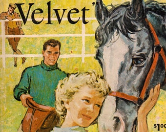 National Velvet by Enid Bagnold, illustrated by Paul Brown
