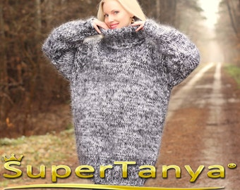 Mohair pullover | Etsy