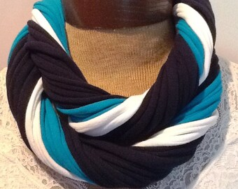 Tampa Bay Rays Scarf - Infinity T Shirt Scarf Belt