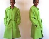 1960 Vintage Lady coat Pure Wool