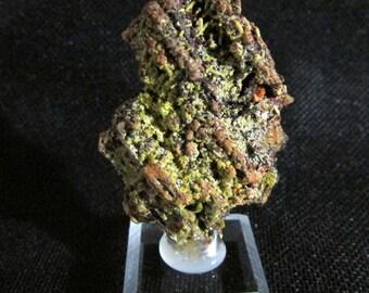 Mineral Specimen - Pyromorphite - Russell Tunnel, Burke, Shoshone Co., Idaho, USA  - Geology - NearEarthExploration
