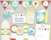 Party Animals Printable Party Collection