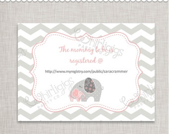 Customized Printable Insert Cards
