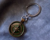 Compass Keychain - Choose...