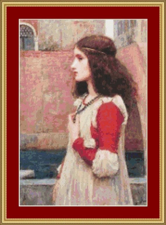 Juliette Cross Stitch Pattern /Digital PDF Files /Instant downloadable