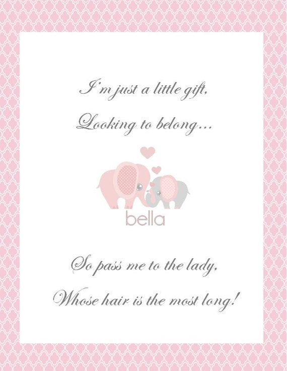 baby shower game pass the gift printable momma baby quo