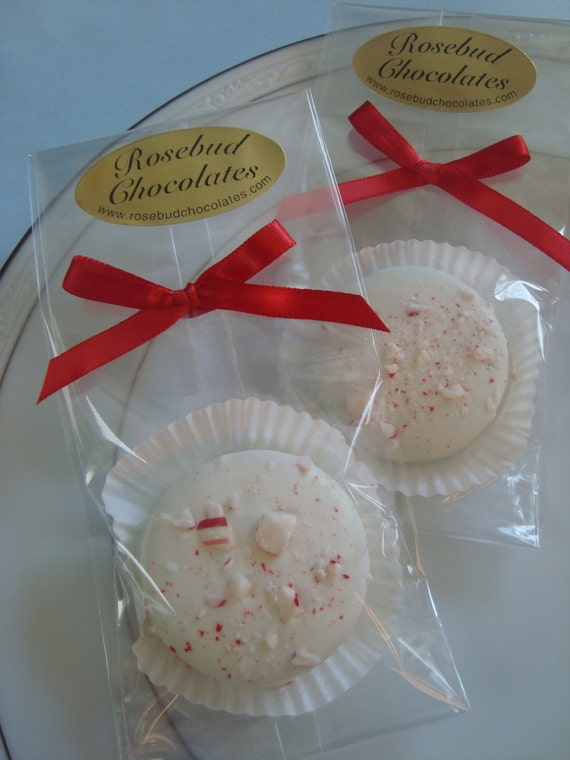 ... Chocolate Candy Cane Oreo Cookie Favors Peppermint Christmas Candy