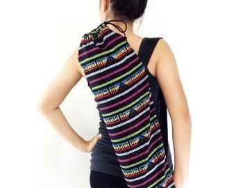 Handmade Yoga Mat Bag Yoga Bag Sports Bags Tote Yoga Sling bag Pilates Bag Pilates Mat Bag Woven Yoga Bag Women bag Woven Cotton bag (WF5)