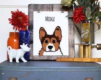 Custom Pet Illustration // Pet Portrait // Personalized Pet Illustration