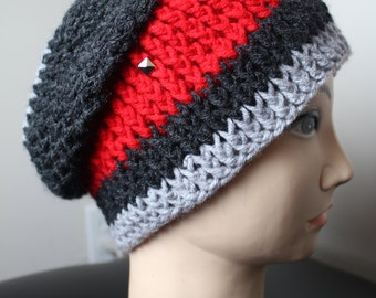CROCHET PATTERN -Studded fall beanie - Permission to Sell Finished Products - Instant Download