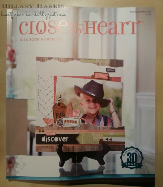 Close To My Heart Spring/Summer 2014 Idea Book and Catalog