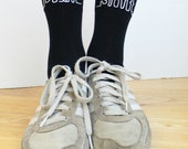 Swear Word Sht or Bullsht Socks - Ankle Socks