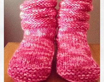 Mukluk Knitting Pattern : FREE KNITTING PATTERNS FOR MUKLUK SLIPPERS - VERY SIMPLE FREE KNITTING PATTERNS