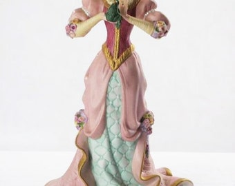 Princess and the Frog Prince, Lenox Figurine Legendary Princesses Collection, Numbered