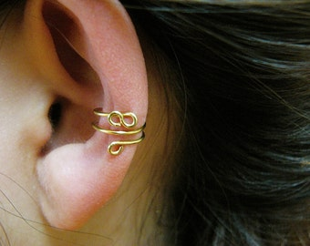 Infinity Ear Cuff - gold or silver
